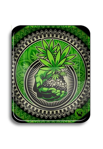 Rolling Tray 'Grass Art #2'