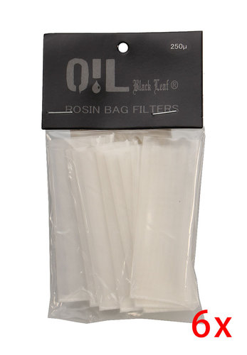 'Oil Black Leaf Rosin Bag' Filterbeutel 250µm S-M