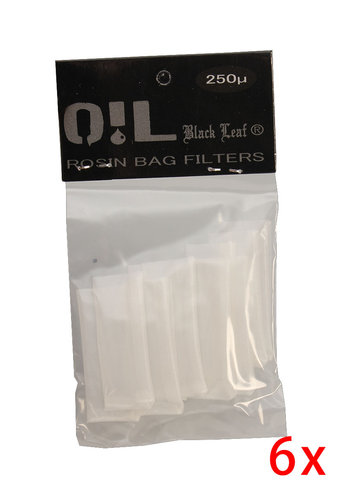 'Oil Black Leaf' 'Rosin Bag' Filterbeutel 250µm S