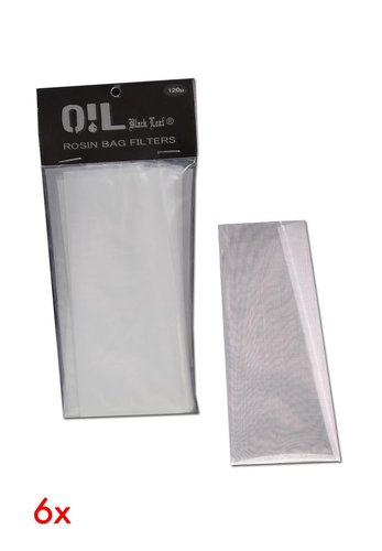'Oil Black Leaf' 'Rosin Bag' Filterbeutel 120µm L