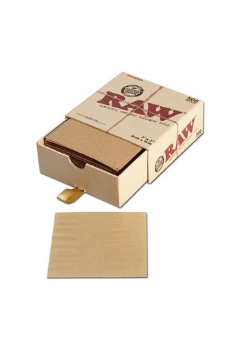 'RAW' Pergamentpapier 500/Box