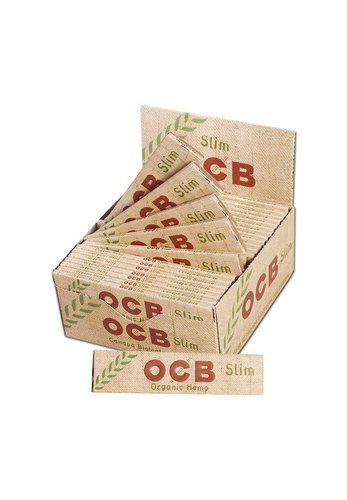 'OCB' Organic Hemp Papers KS Slim