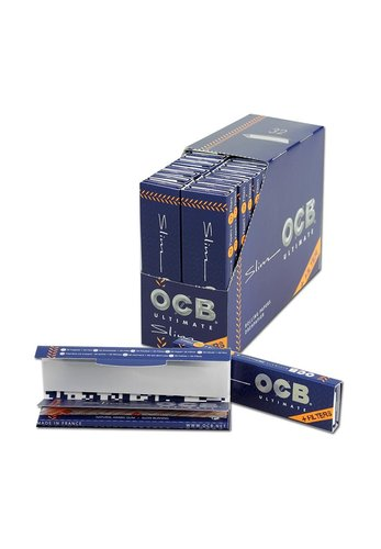 'OCB Ultimate' Papers KS Slim Ultra Thin + Tips