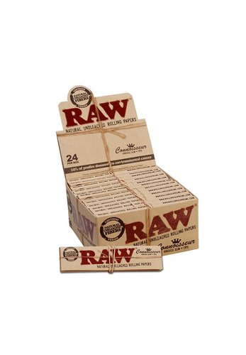 'RAW' 'Connoisseur' Papers KS Slim mit Tips