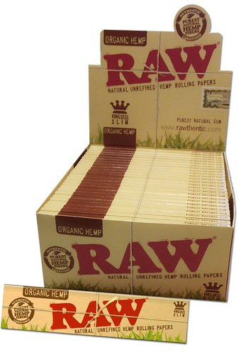 'RAW' Organic Hemp Papers KS Slim