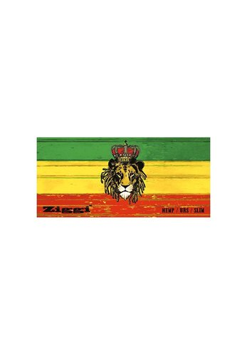 'Ziggi' Papers + Tips 'Rasta Lion' Slim Hanfpapier
