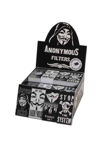 Anonymous Filtertips perforiert